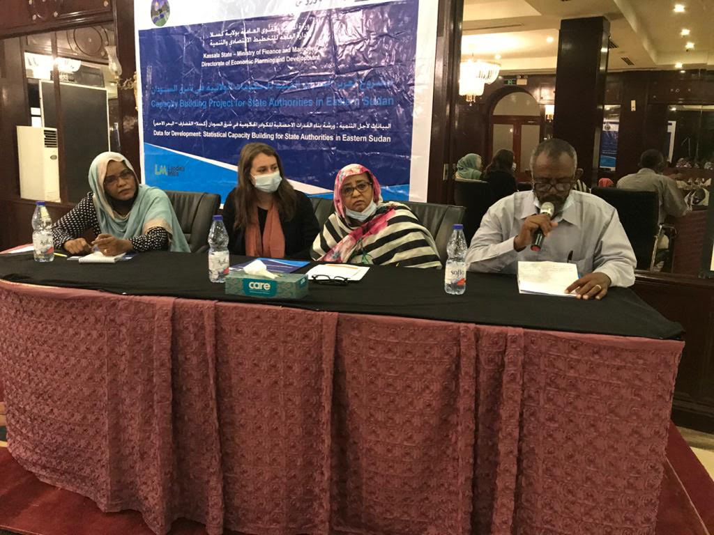 EU Builds Capacity Of State Authorities In Eastern Sudan To Enhance Data Driven Development