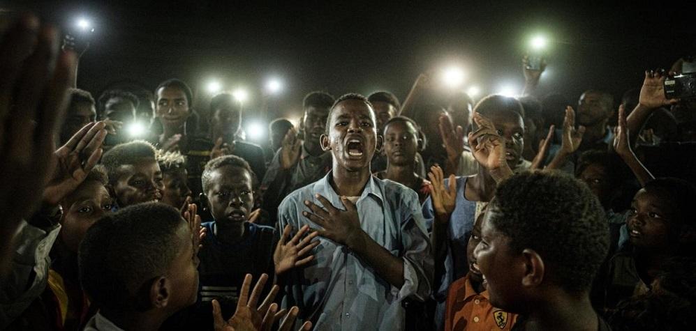 Sudan Protest Picture Wins Top World Prize