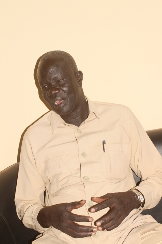 "Arabic lover, critic, and director Shul Deng to ""Sudanow"""
