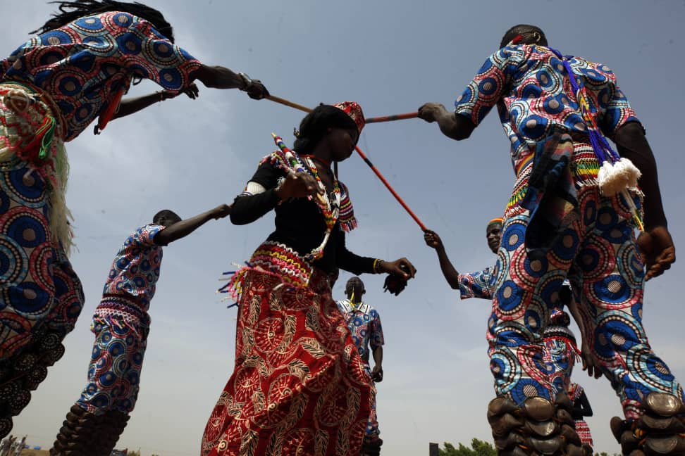 Nuba Mountains People Celebrate International Day Of Peace