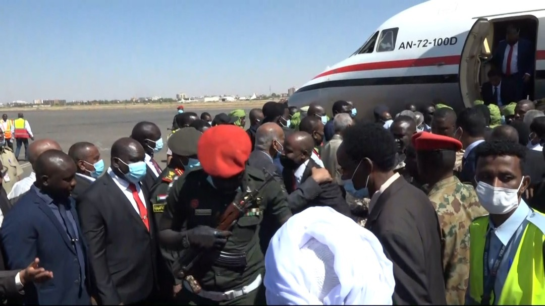Sudanese Former Rebel Leaders Arrive In Khartoum To Celebrate Peace Deal