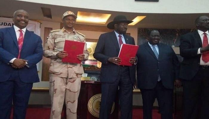 A Peace Framework Agreement Signed With Agar-led SPLA-M
