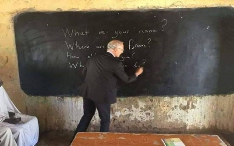 British Ambassador Michael Aron Bids Farewell From Inside A Classroom