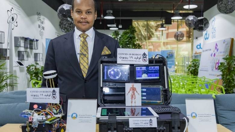Sudanese Scientist Invents Robot For Detecting Covid-19 Patients