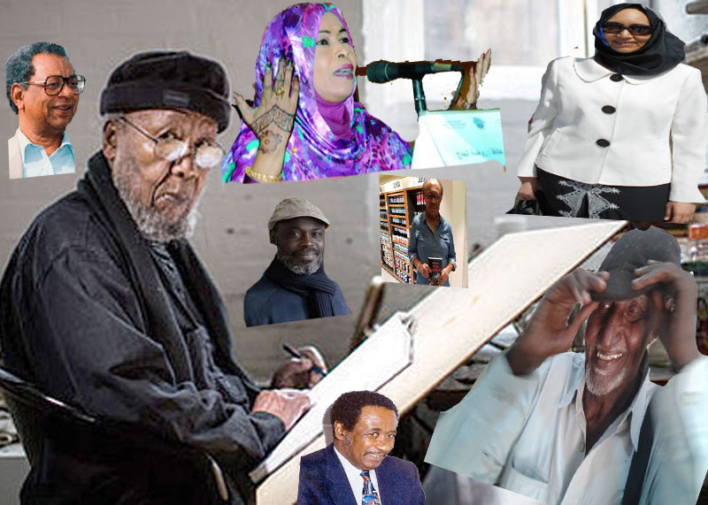 Some Of Sudan's International Creative Writers, Artists