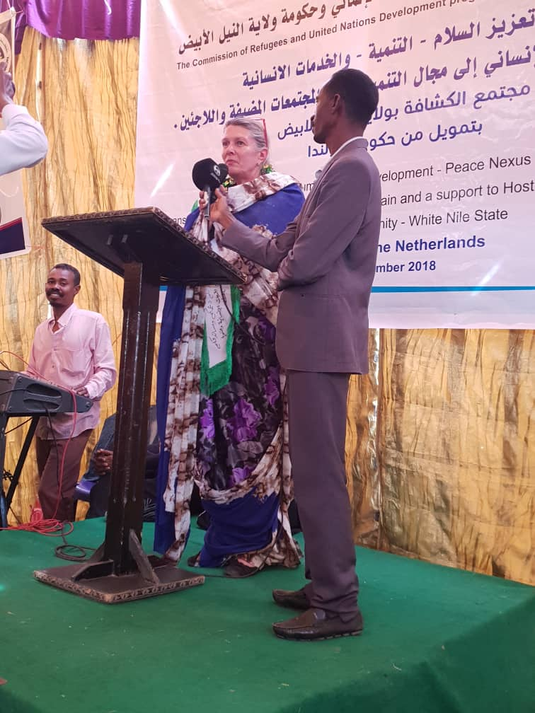 Netherlands Supports Refugees Contributing To Sudanese Communities Development
