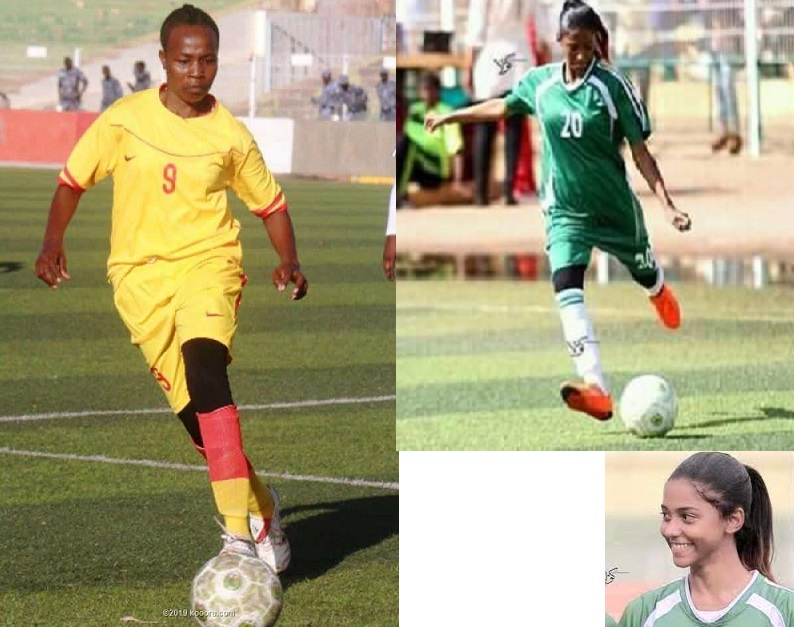 Two Rising Stars From The Women's Football Of Sudan