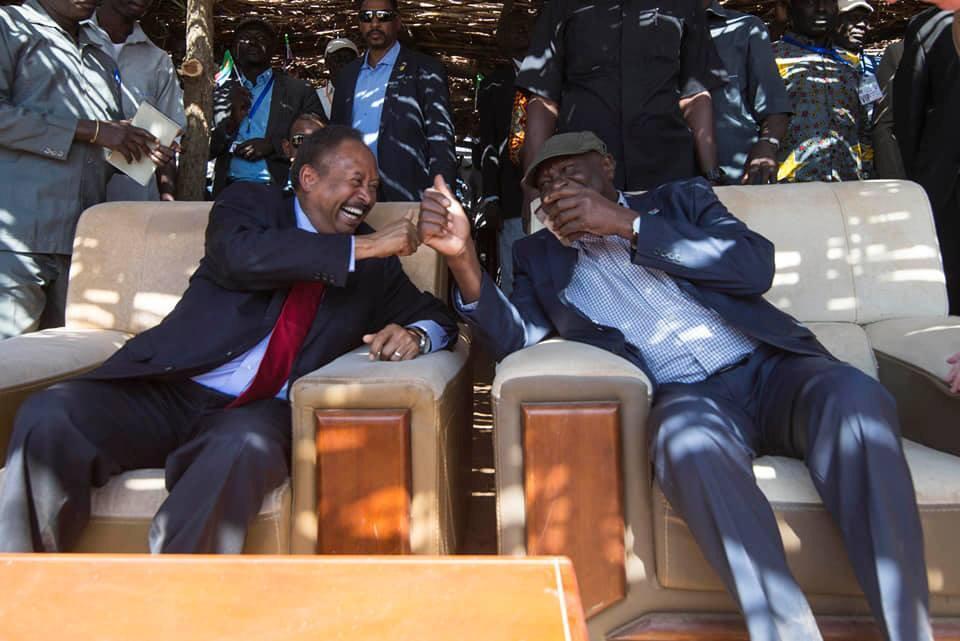 Hamdok Arrives In Kauda, Rebel Stronghold In South Kordofan