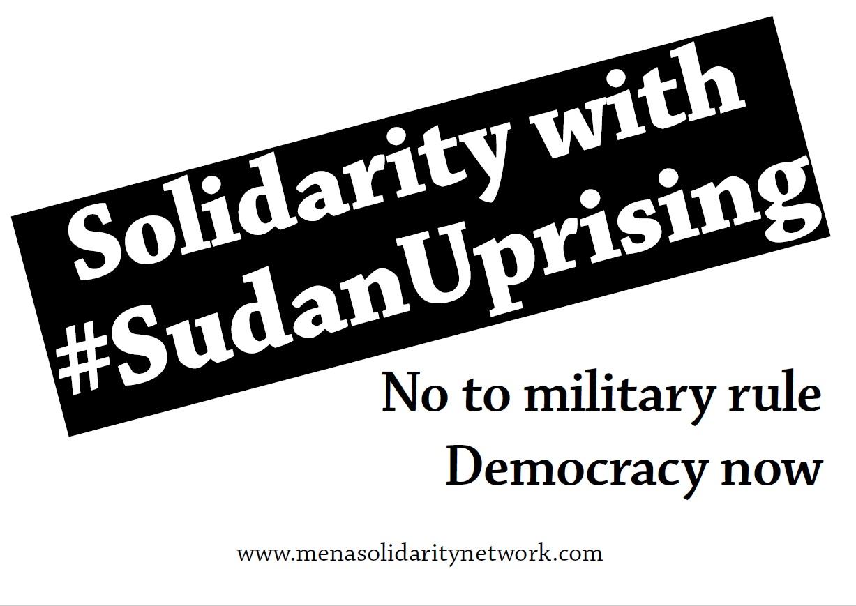 International Open Letter Of Solidarity With Sudan And Algeria