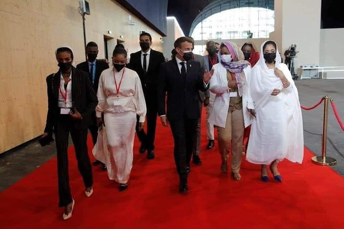 Captivating French Celebration Of Sudan's Revolution