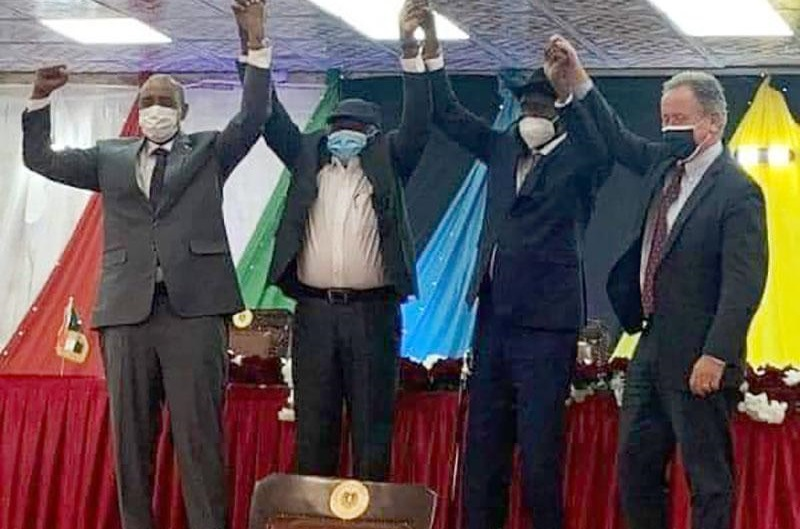 Sudan Government And SPLM-N Sign Declaration Of Principles