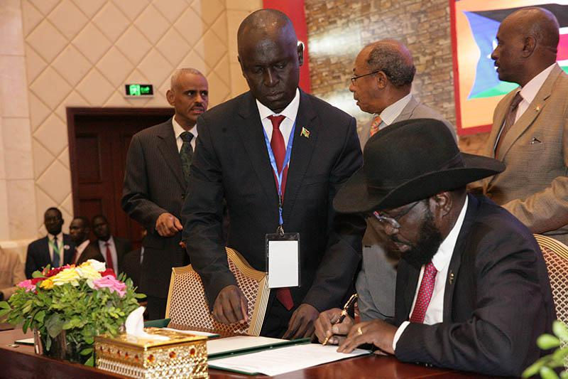 Full Text Of Agreement Between South Sudanese Rival Groups
