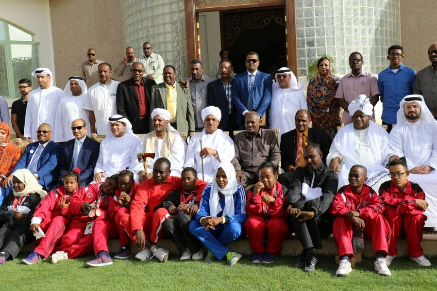 U.A.E Embassy Hounors Sudanese Athletes