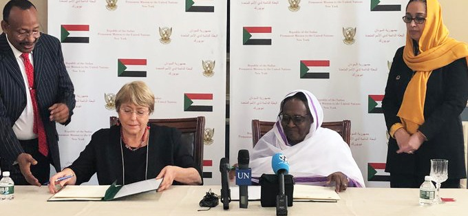 Sudan And UN Sign Agreement To Open Human Rights Office In Sudan