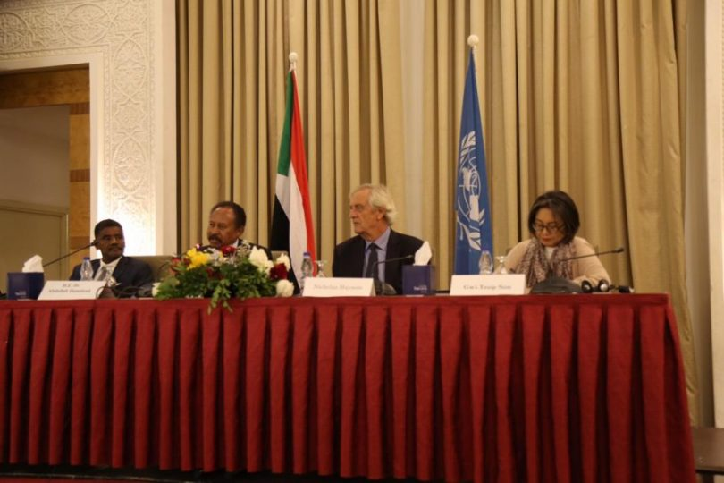 UN Discusses How To Help Sudan During Interim Period