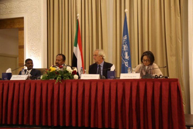 UN Discusses How To Help Sudan During Interim Period