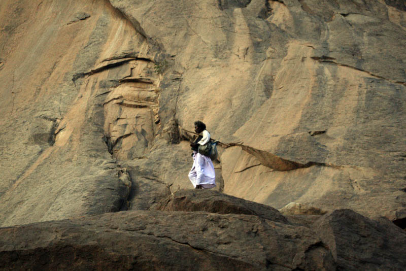 Mohamed Dean Jawe of the Hadandawa tribeclimbed the hills every day where his goats graze