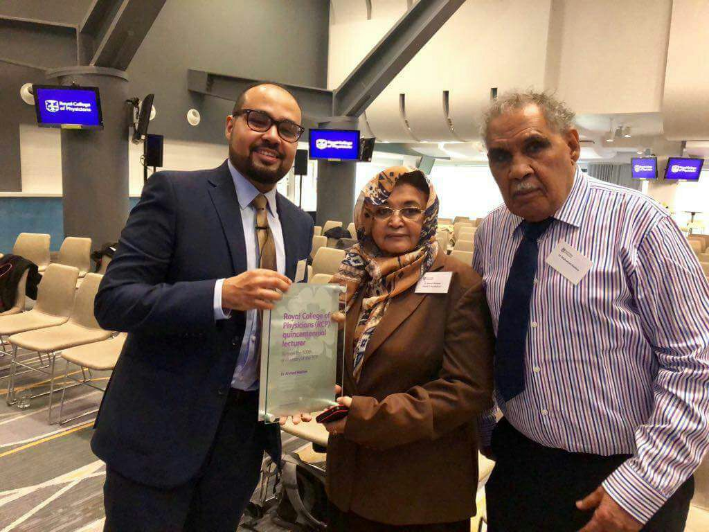 Sudanese Gastroenterologist Stands Tall In Royal College Of Physicians Quincentennial