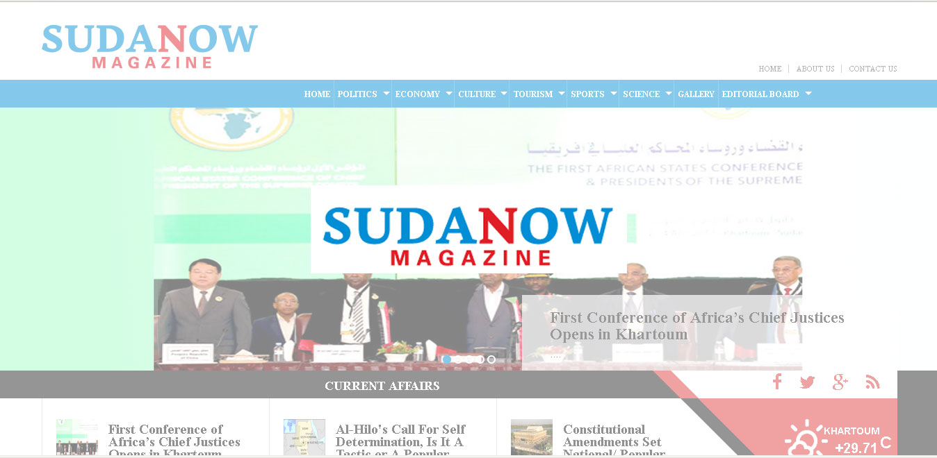 About Sudanow