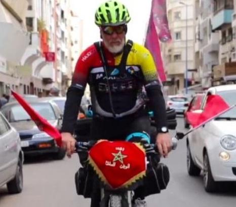 Moroccan Cyclist Alroboahat