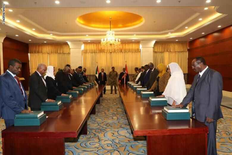 Sudan New Cabinet Sworn In, Ending Months Of Government Vacuum