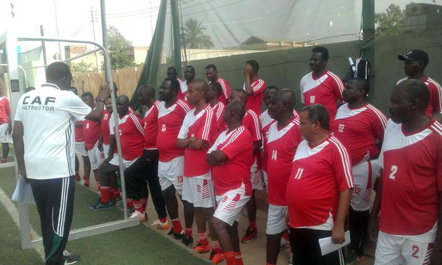 CAF Trains 3660 Sudanese Coaches