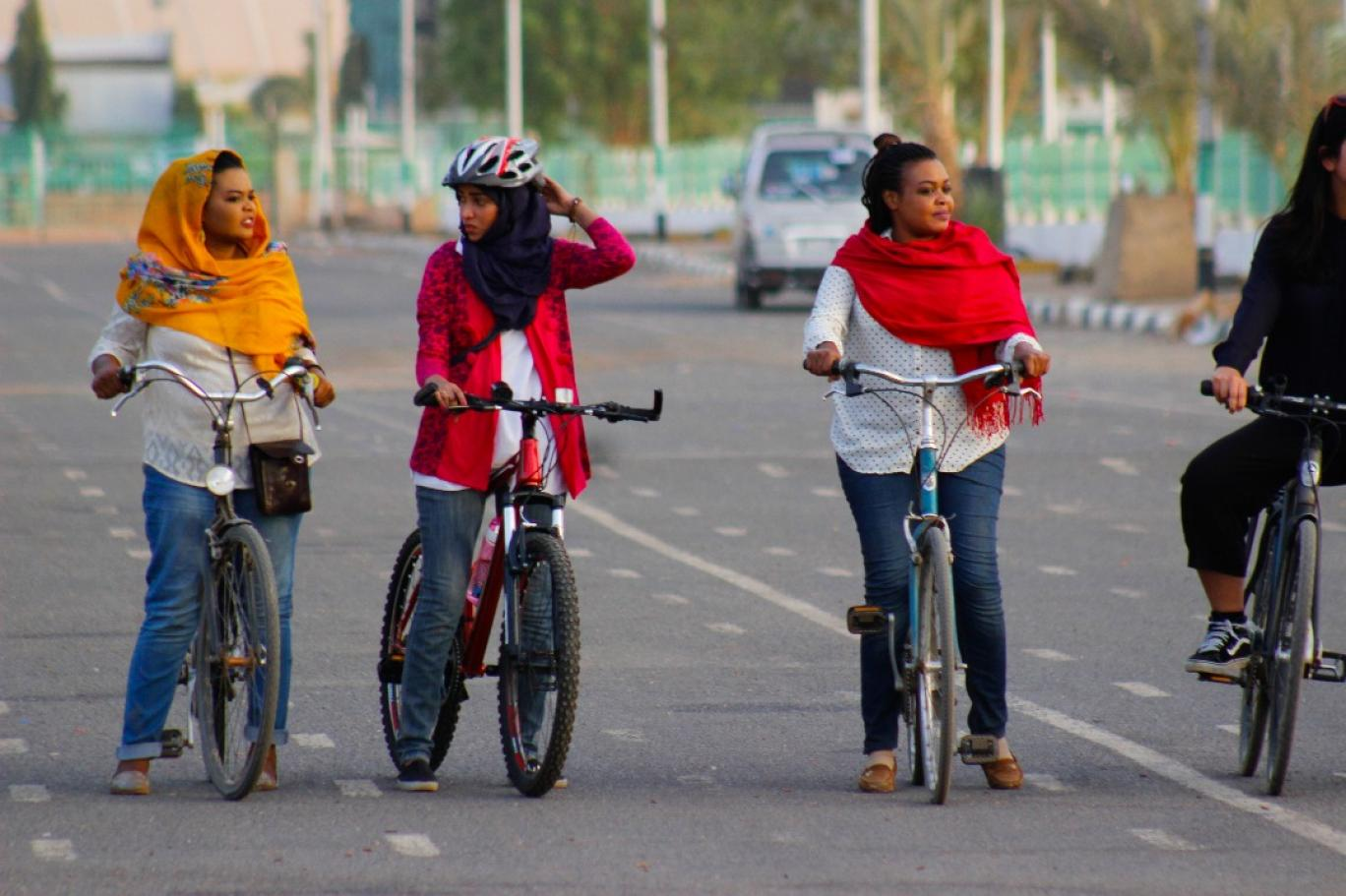 Cycling To Promote Women Rights