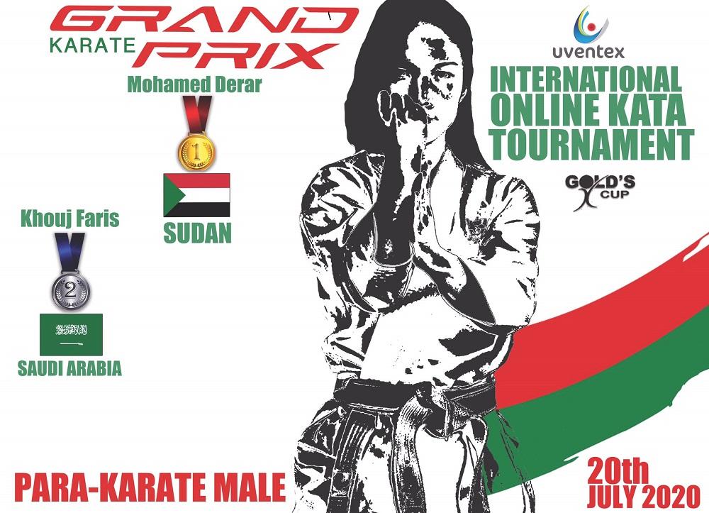 Champion Mohamed Derar Harvests Karate Gold