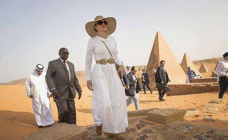 World Celebrities Spotlight Sudan's Ancient History, Tourist Destinations