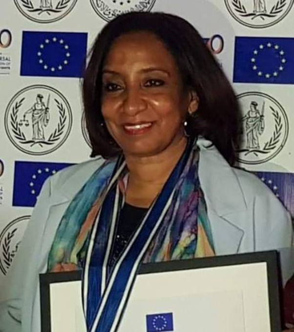 Nahid Jabrallah Receives Human Rights Award