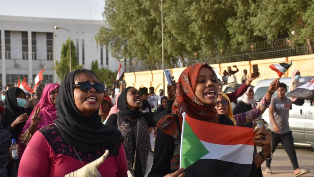 The Feminine Face Of  Sudan's Popular Uprising