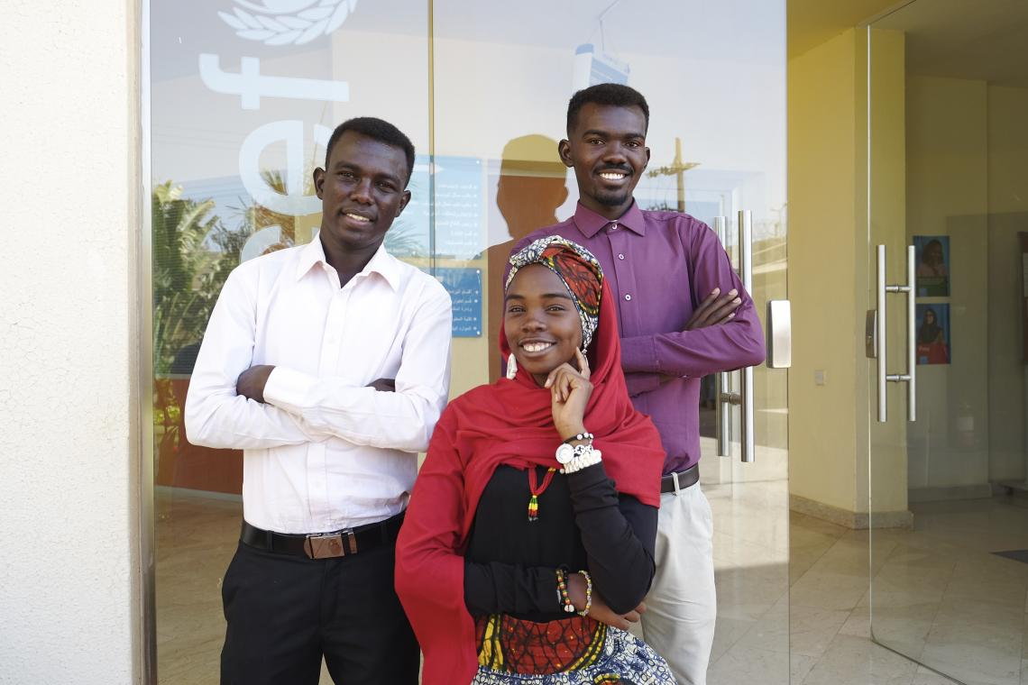 ‏Sudanese Win Generation Unlimited Youth Challenge Award