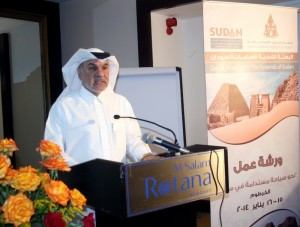 Head of Qatar-sponsored project for rehabilitation of  Merowe sites DR Abdallah Al Najar