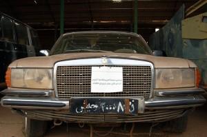President Nemeri's armored Mercedes