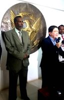 Tourism minister and head of world Tourism Organizaion during the latter visit to Sudan